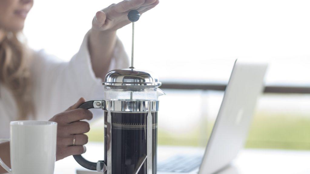 Prensa Francesa para café en grano