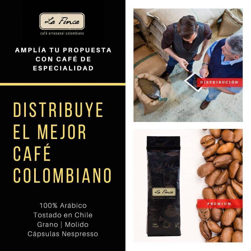 Distribución de Café