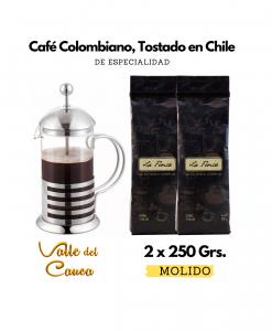 Café Valle del Cauca + Prensa Francesa