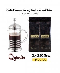 Café La Finca Quindío + Prensa Francesa